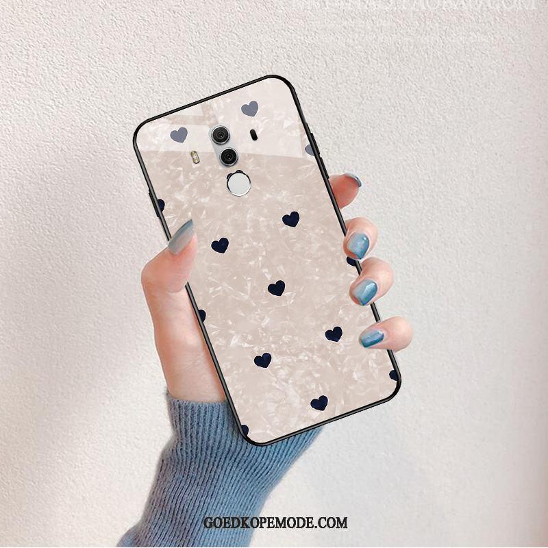 Huawei Mate 10 Pro Hoesje Mooie Mode Wind Net Red Dun