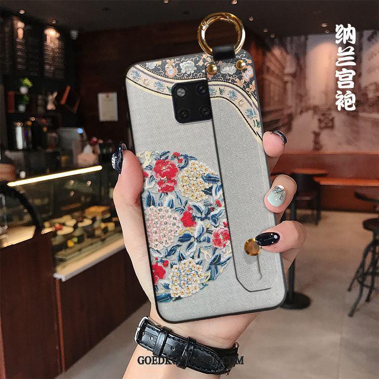 Huawei Mate 20 Pro Hoesje All Inclusive Mode Zacht Paleis Wind