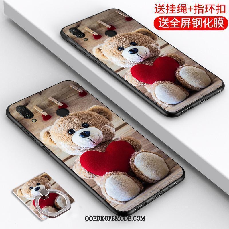 Huawei P Smart 2019 Hoesje Scheppend Mode Mobiele Telefoon Anti-fall Persoonlijk