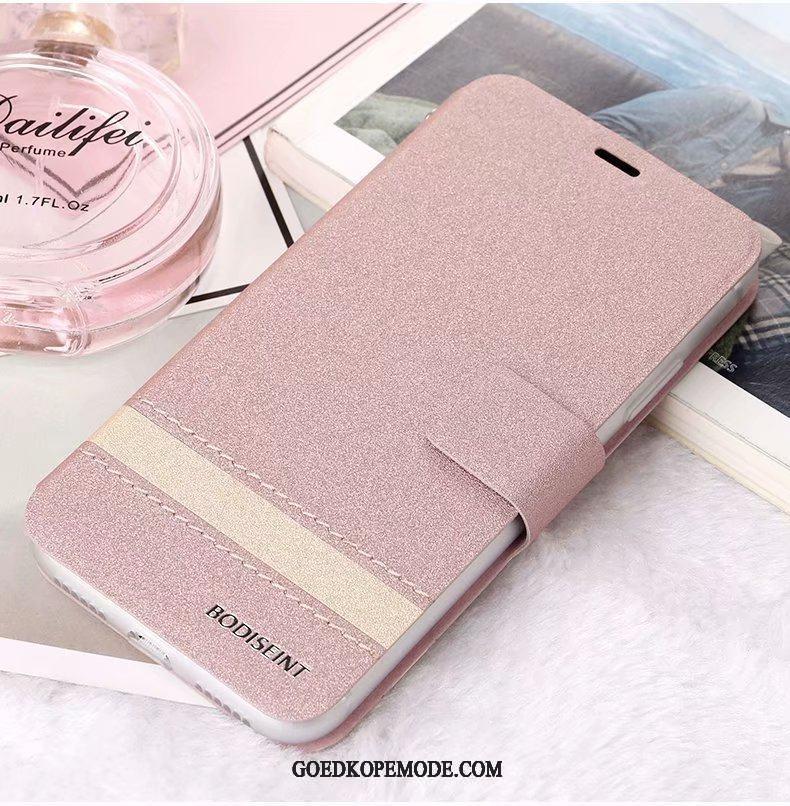 Huawei P20 Lite Hoesje Jeugd Leren Etui Anti-fall Grijs Mobiele Telefoon
