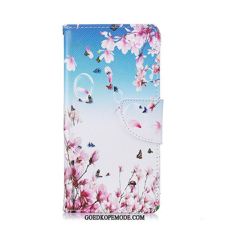 Huawei P9 Lite Hoesje Anti-fall Hoes Jeugd Folio Wit