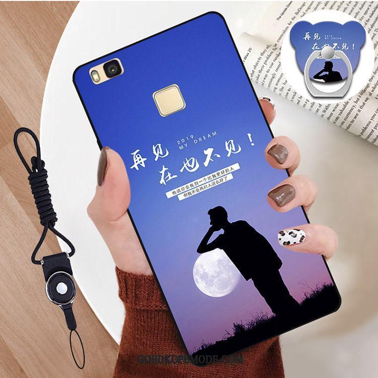 Huawei P9 Lite Hoesje Mobiele Telefoon Wind Zwart Jeugd