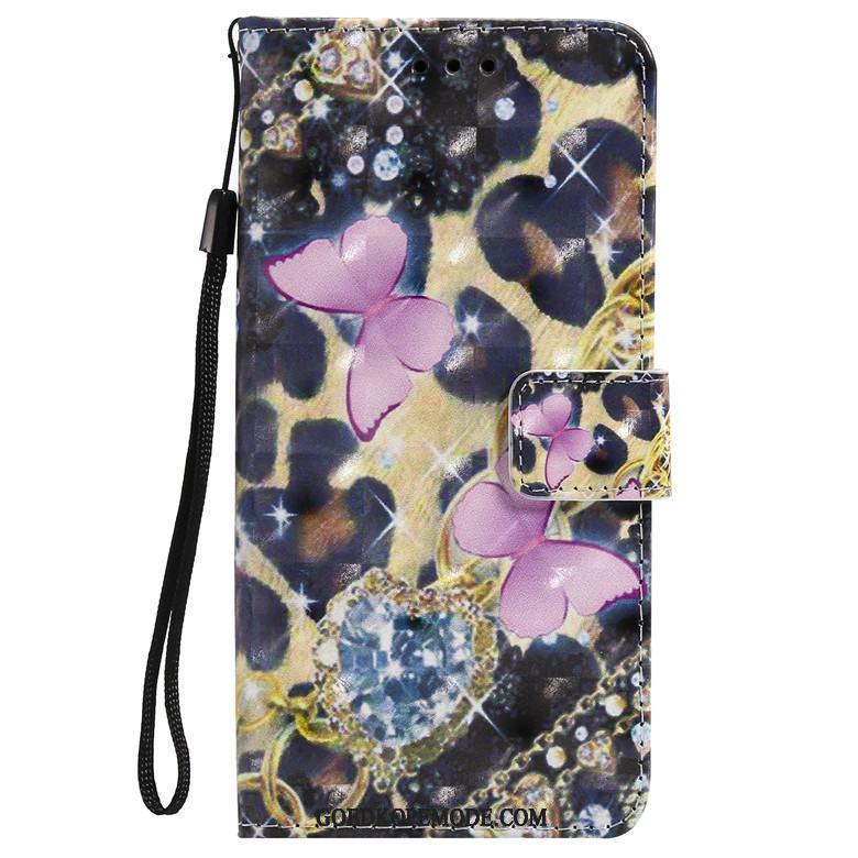 Samsung Galaxy A40 Hoesje Mobiele Telefoon Bescherming Geschilderd Ster Folio