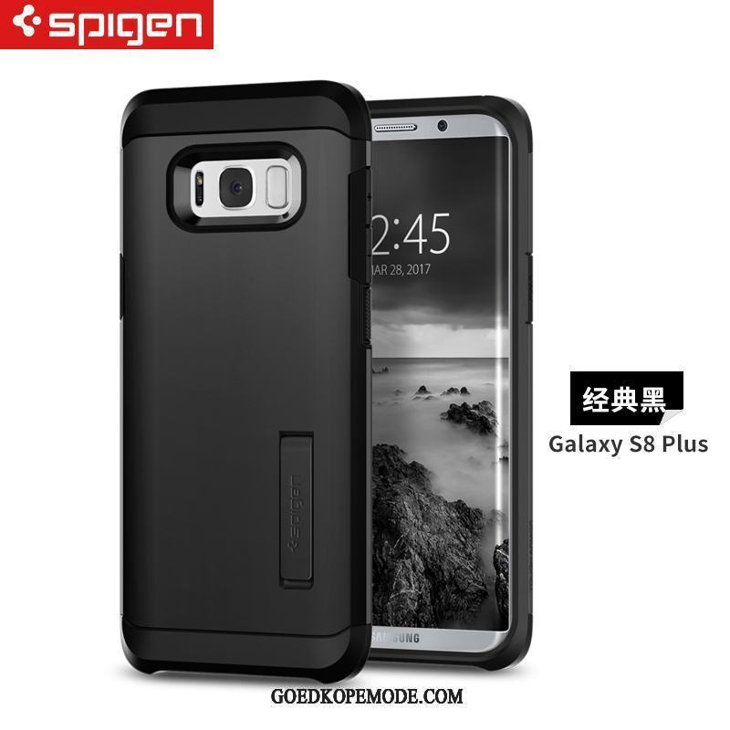 Samsung Galaxy S8+ Hoesje Gehard Glas Lovers Trendy Merk Mini Outdoor