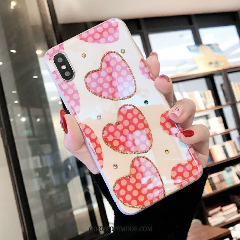 iPhone X Hoesje Met Strass Super Lovers All Inclusive Wit