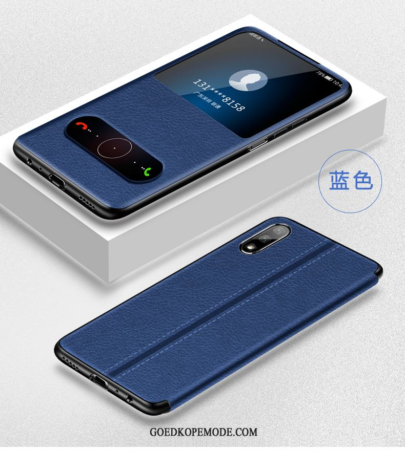 Honor 9x Hoesje Magnetisch Anti-fall Mode Siliconen Hoes
