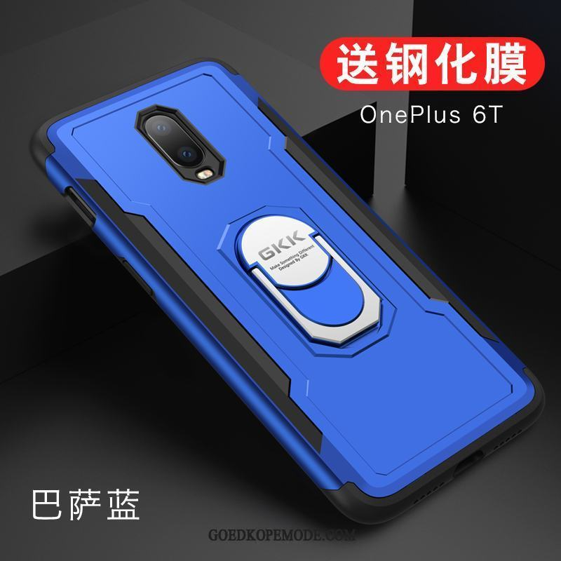 Oneplus 6t Hoesje All Inclusive High End Siliconen Hoes Bescherming
