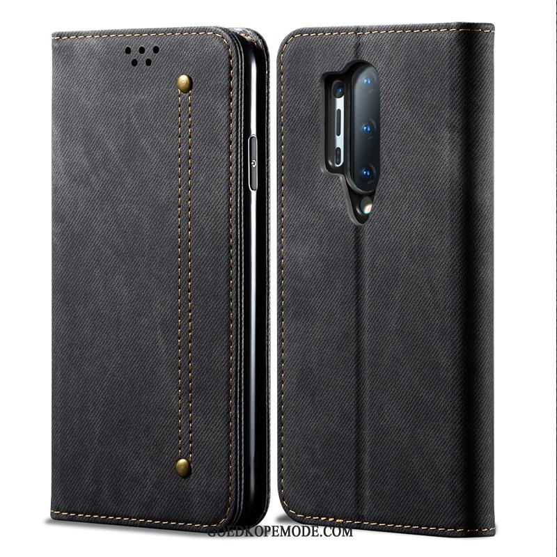 Oneplus 8 Pro Hoesje Mobiele Telefoon High End Anti-fall Folio Leren Etui