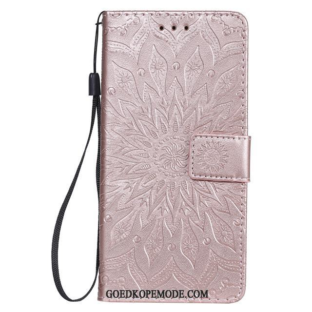 Samsung Galaxy A50s Hoesje Mobiele Telefoon Rose Goud All Inclusive Anti-fall Ster