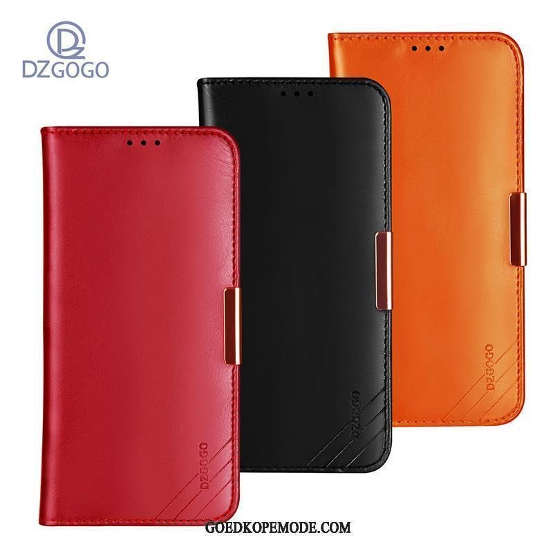 Samsung Galaxy Note 8 Hoesje Folio Ster Hoes High End Leer