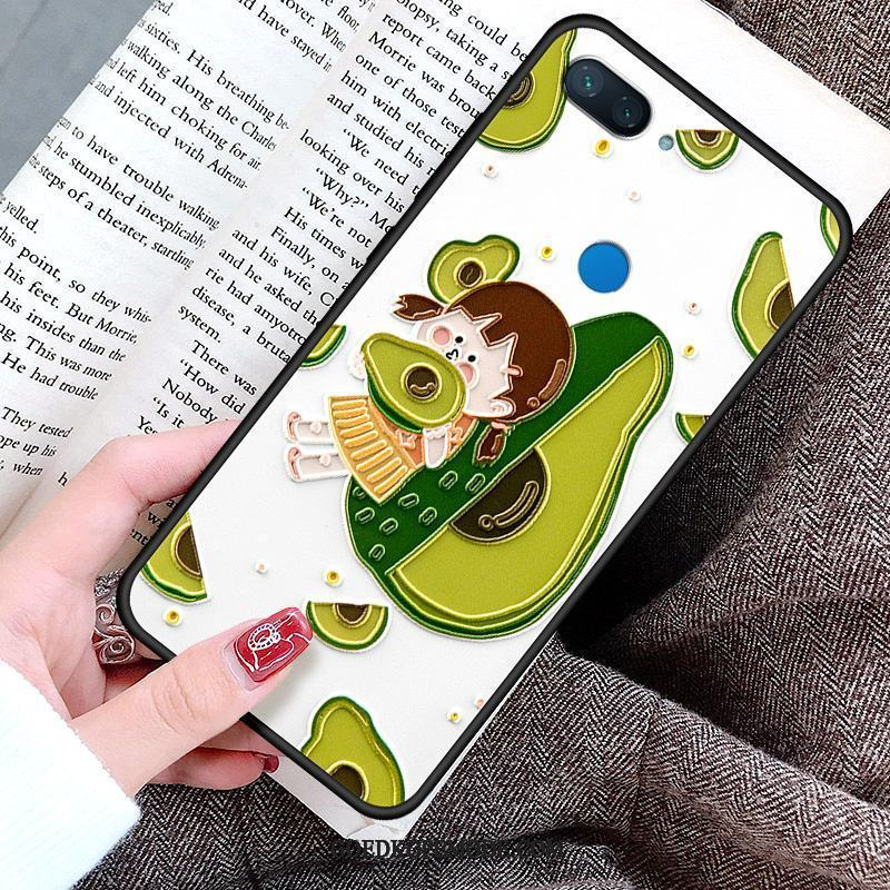 Xiaomi Mi 8 Lite Hoesje Lovers All Inclusive Fruit Patroon Reliëf
