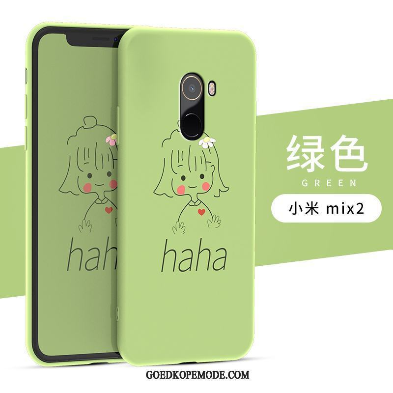 Xiaomi Mi Mix 2s Hoesje Zacht Anti-fall Hoes Spotprent Dun